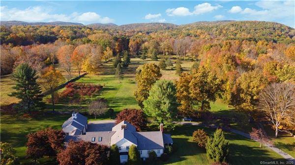 Fairview Farm - unique 45-plus acre connecticut property mansions