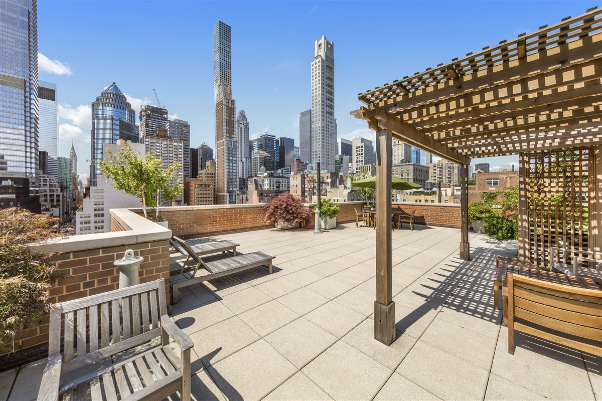 Luxury properties spacious apartment features skyline views