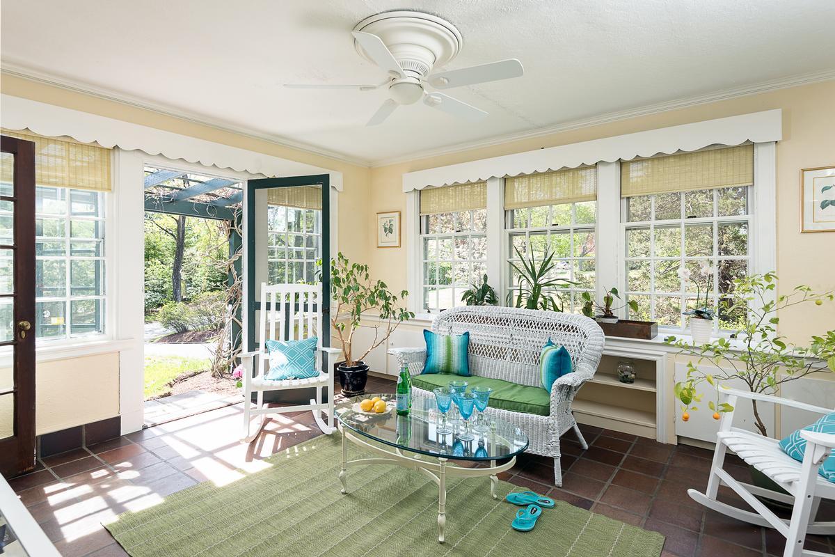 Luxury real estate gracious Hingham home