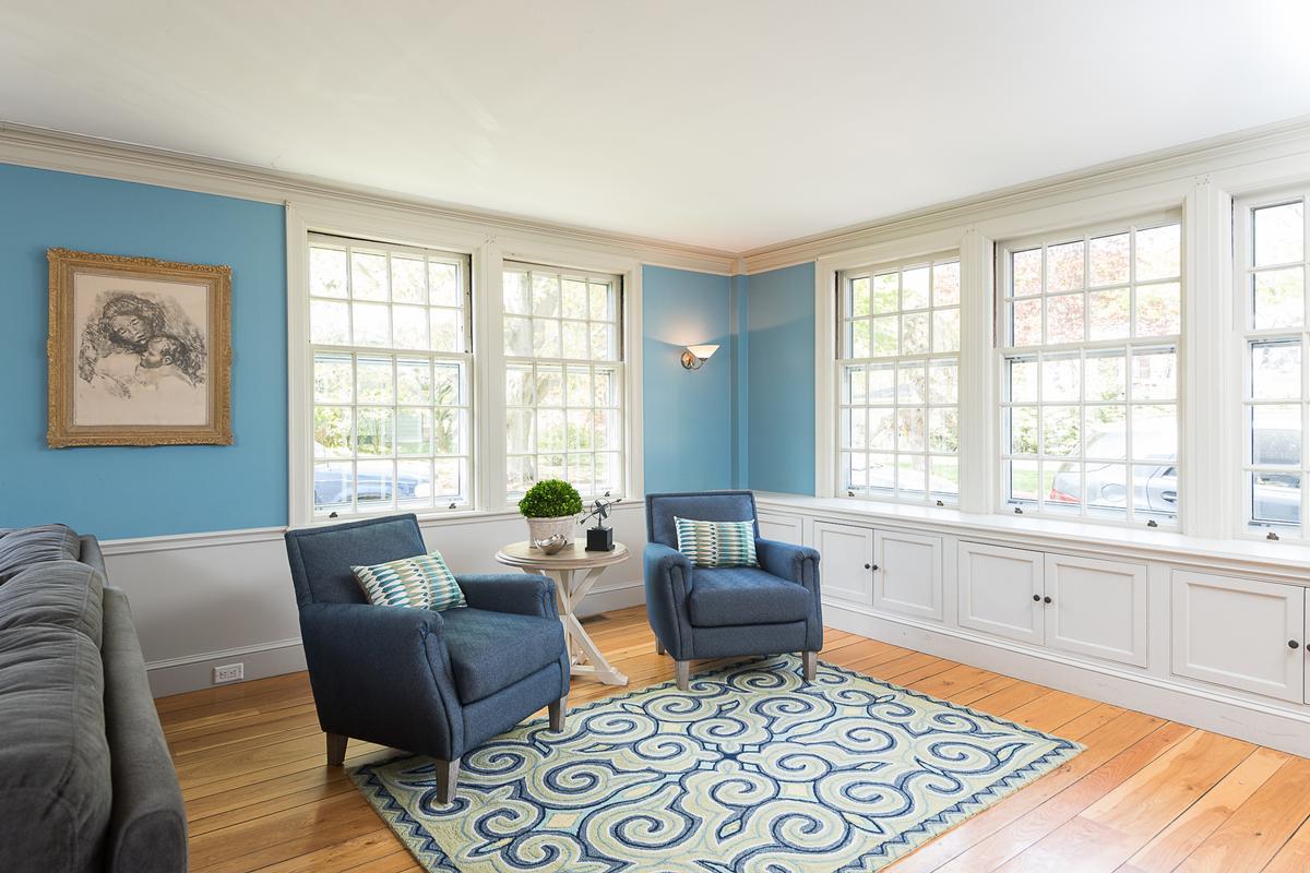 Luxury properties gracious Hingham home