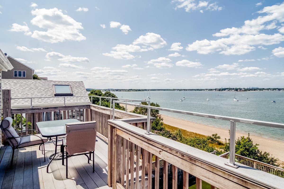 Luxury real estate Wessagussett Beach