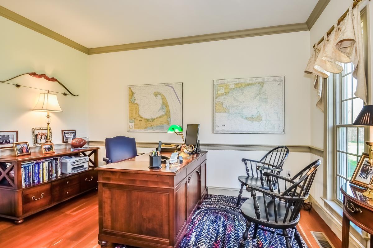 Custom Colonial with Water Views luxury properties