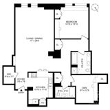 Mansions in highly desired Chelsea Mercantile apartment