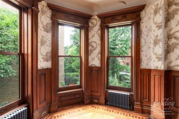 Luxury real estate stately single-family residence