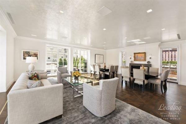 Luxury real estate Prewar Penthouse Condominium in new york