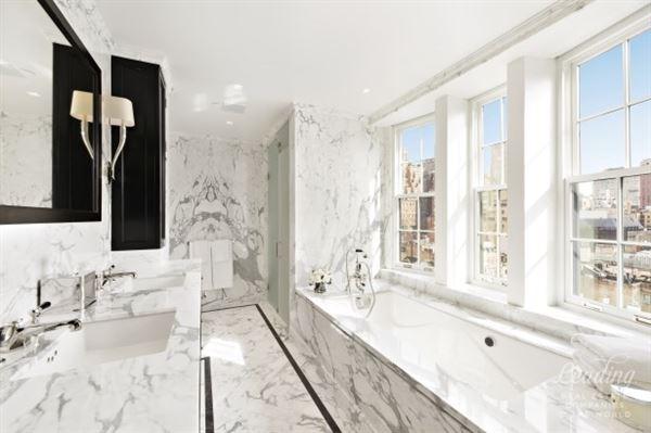 Prewar Penthouse Condominium in new york mansions