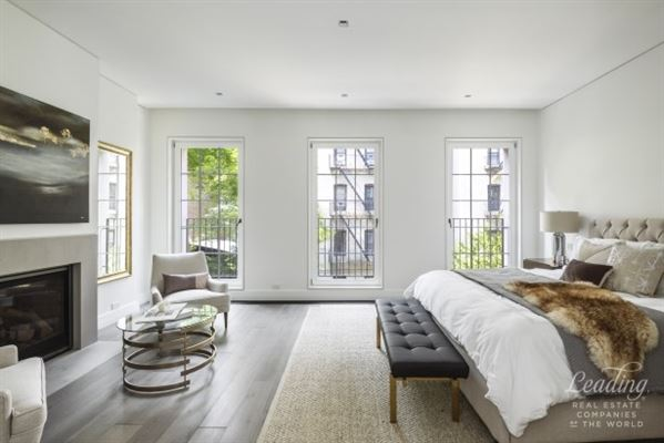 newly renovated five-story West Village townhouse luxury homes
