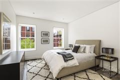 Luxury real estate newly renovated five-story West Village townhouse