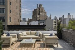 Luxury properties newly renovated five-story West Village townhouse