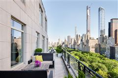 Mansions Rare Corner Penthouse at 15 CPW