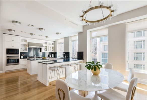 Rare Corner Penthouse at 15 CPW luxury real estate