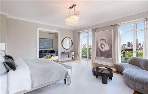 Rare Corner Penthouse at 15 CPW luxury properties