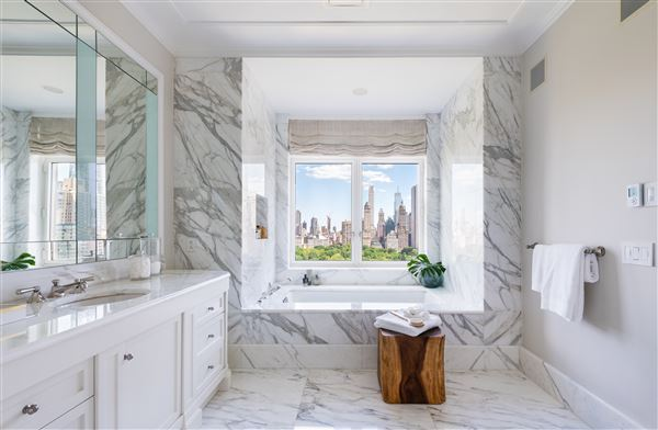 Rare Corner Penthouse at 15 CPW mansions