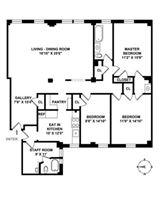 Mansions in grand and rare turn of the century condominium