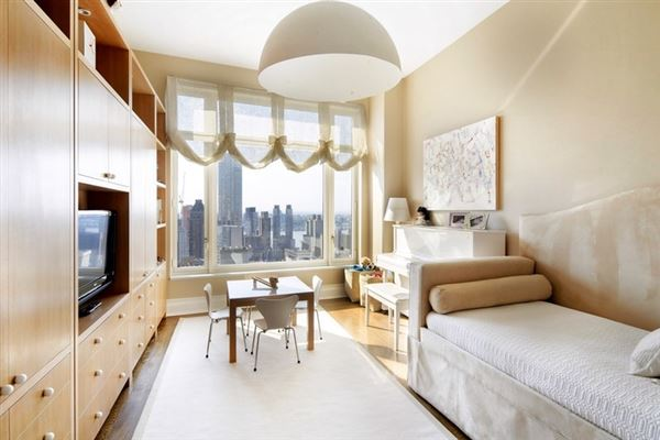 Luxury real estate sought-after condominium building in new york