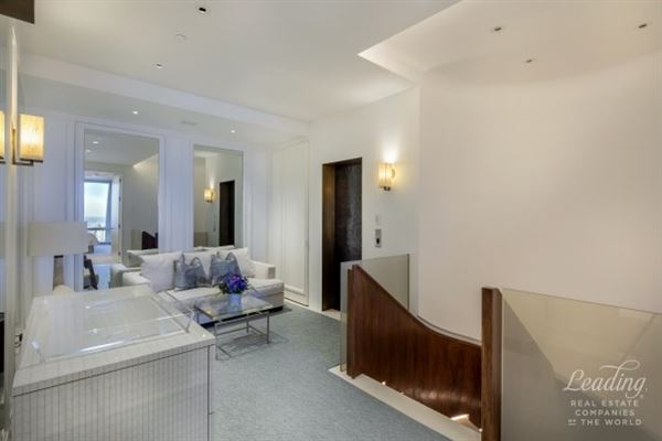 incredible duplex at the Time Warner Condominium luxury homes