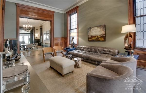 architectural gem located in historic clinton hill luxury homes