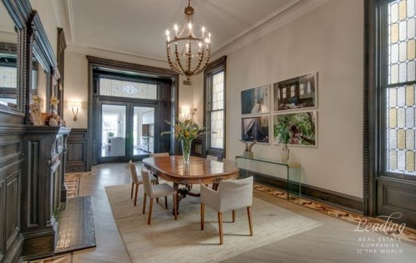Luxury real estate architectural gem located in historic clinton hill