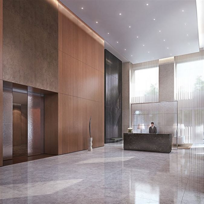 Luxury real estate rent on the 71st floor at 432 Park Avenue