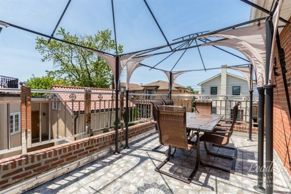 Luxury real estate exceptional brick two-family home