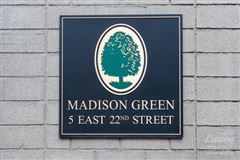 Luxury real estate one bedroom corner unit at Madison Green