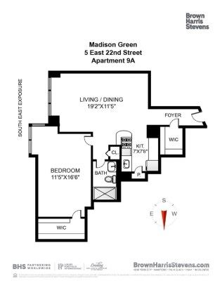 Mansions one bedroom corner unit at Madison Green