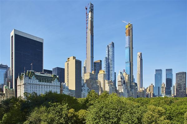 full floor on fifth avenue with stunning views mansions