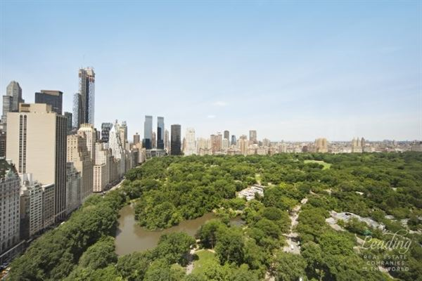 Luxury homes extraordinary views of Central Park