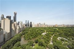 extraordinary views of Central Park  mansions