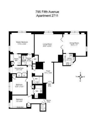 exclusive New York apartment on the 27th floor luxury properties