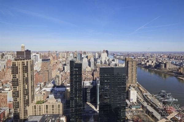 sun-flooded renovated 47th floor home luxury real estate