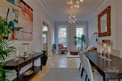 mint four-story brownstone luxury real estate