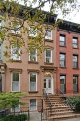 Luxury homes in mint four-story brownstone