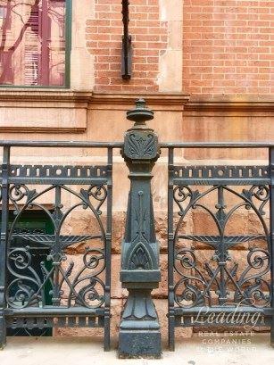 striking red brick and brownstone luxury real estate