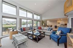 Mansions in most desirable Cypress end unit with waterfront views