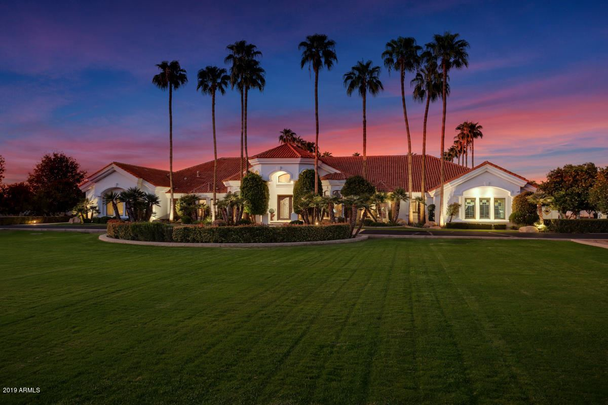 Luxury properties Exceptionally rare gated Citrus estate