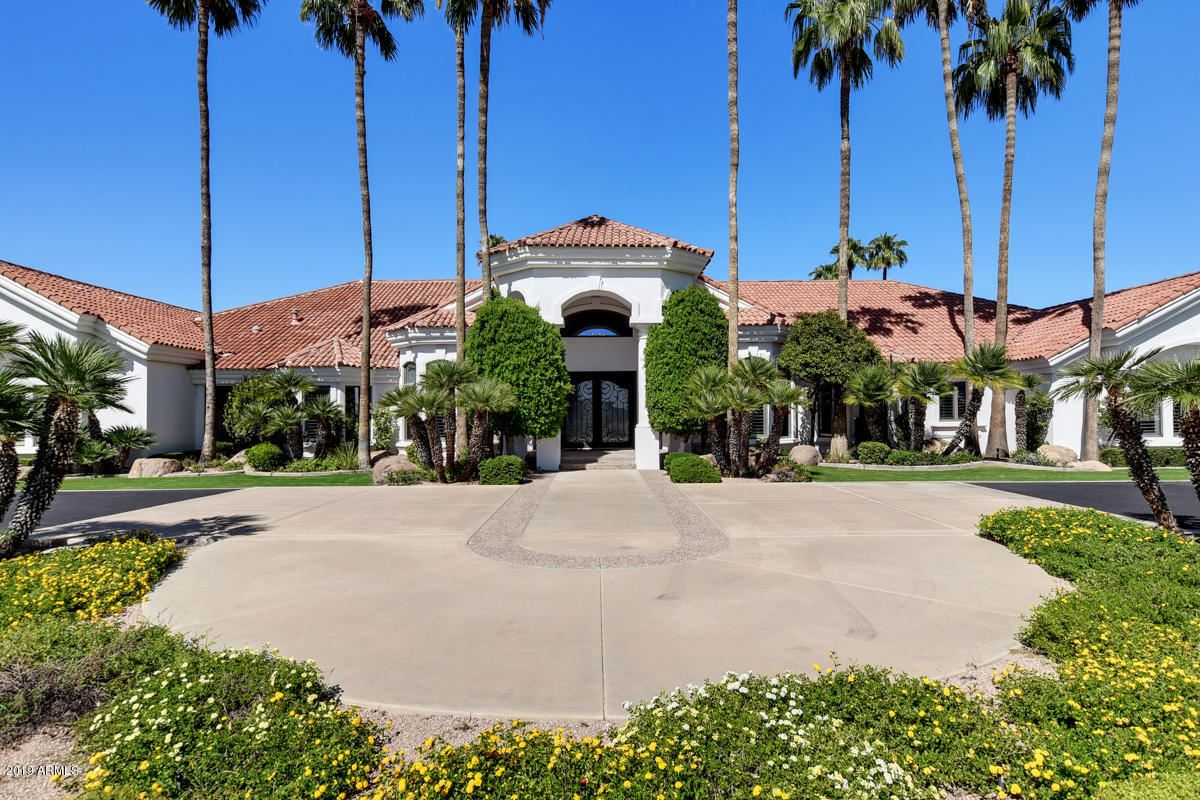 Mansions in Exceptionally rare gated Citrus estate