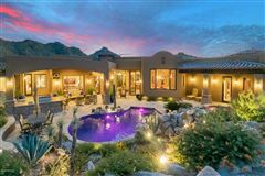 Tuscan masterpiece in marana luxury homes