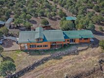 remarkable log cabin home on 35 acres mansions