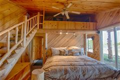 Luxury homes remarkable log cabin home on 35 acres