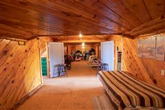 remarkable log cabin home on 35 acres luxury real estate