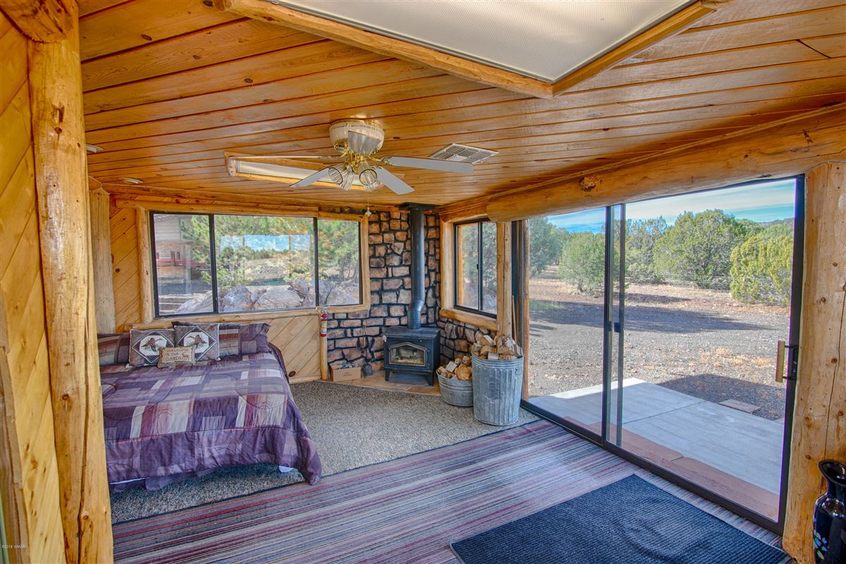 Luxury real estate remarkable log cabin home on 35 acres