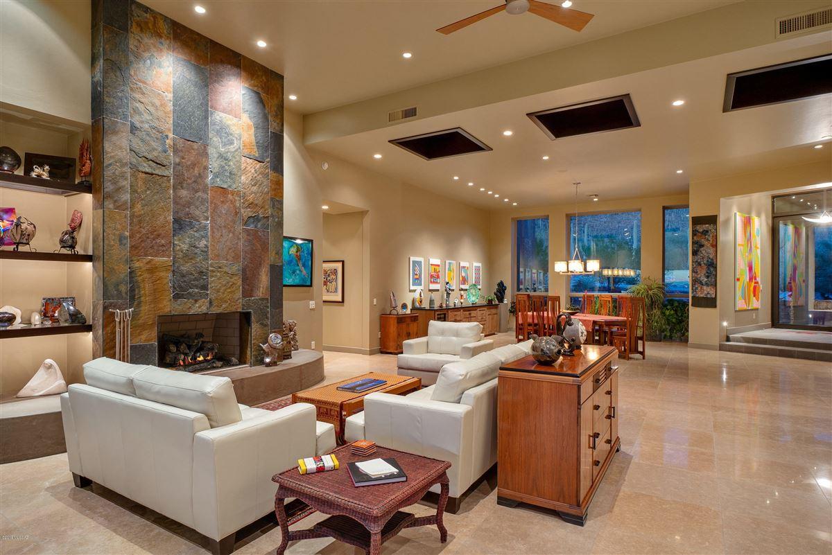 Luxury real estate exclusive neighborhood of The Canyons