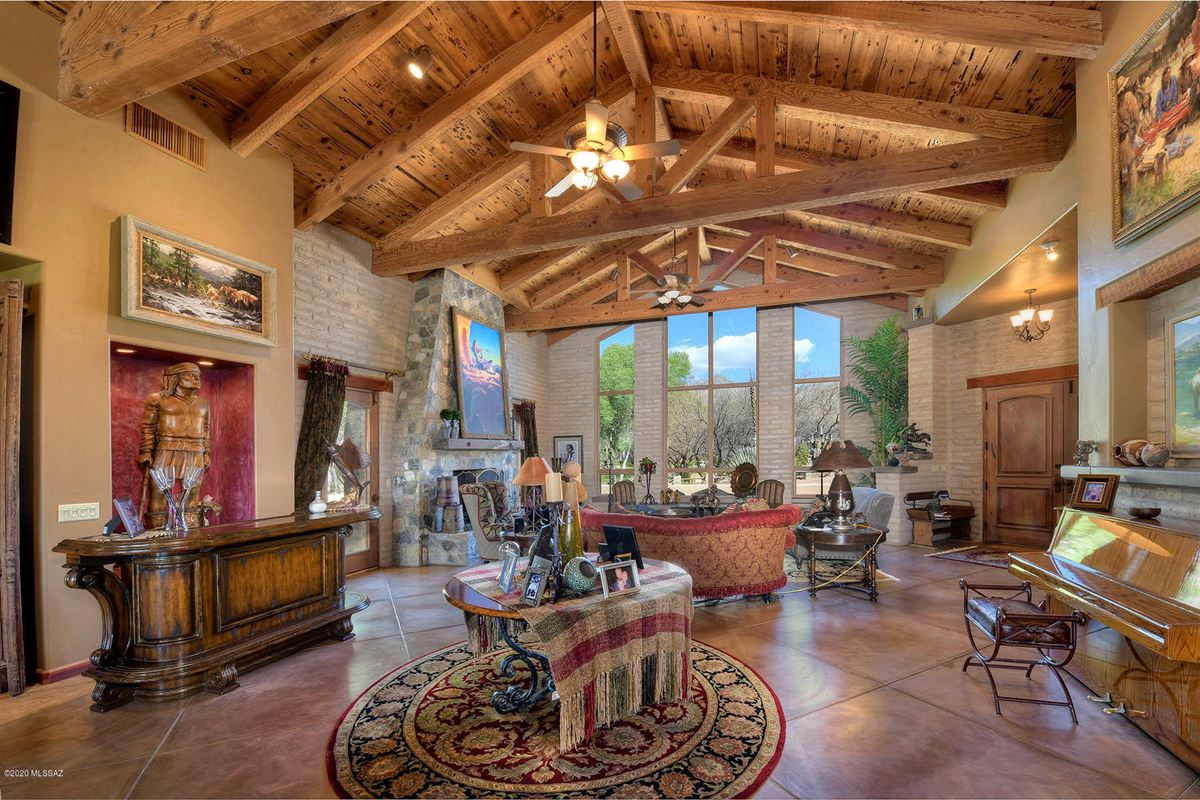 gorgeous luxury adobe home on 22 lush acres in tucson luxury homes