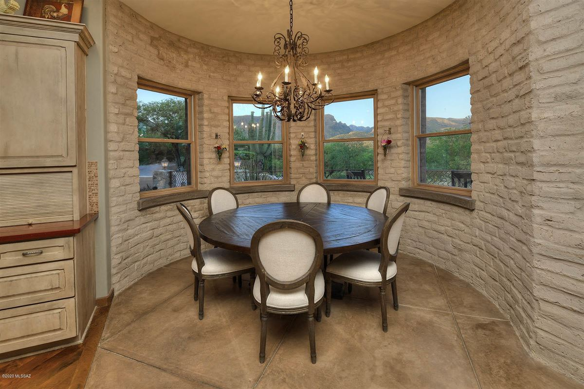 Luxury homes in gorgeous luxury adobe home on 22 lush acres in tucson