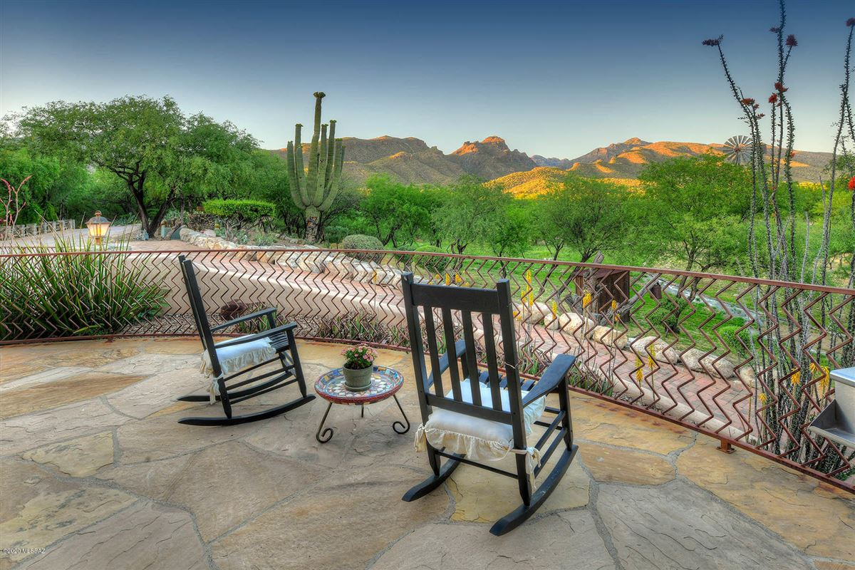 gorgeous luxury adobe home on 22 lush acres in tucson mansions