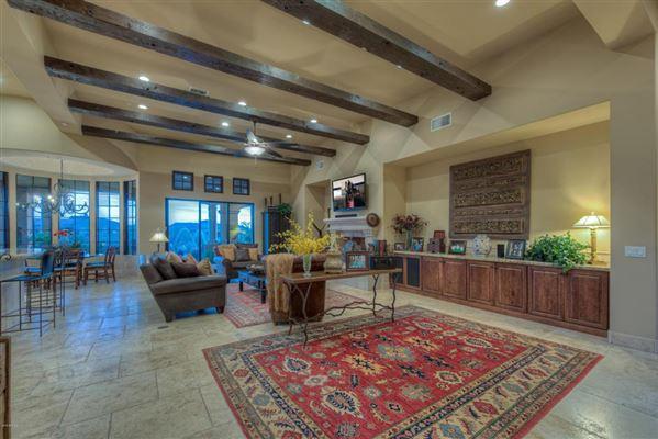 Sonoran Desert and mountain views luxury properties