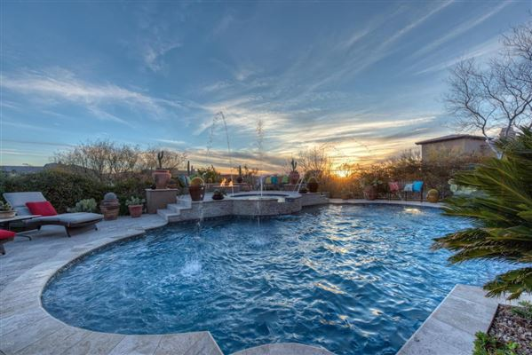 Sonoran Desert and mountain views luxury homes