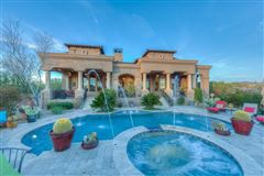 Sonoran Desert and mountain views mansions