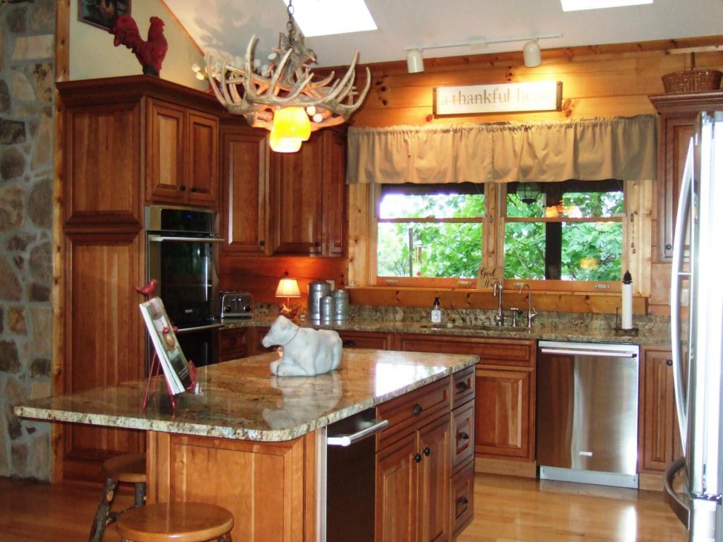 Luxury properties norris lake front custom built log home